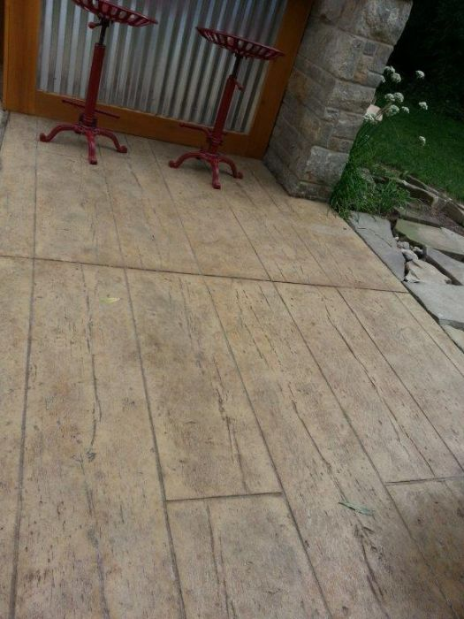 Wesson Builders Project Image - 2015 Poolside Bar – Stamped Concrete Patio